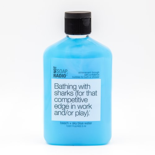 Confidence Booster Body Wash - Beach & Sky Blue Water Scent - Achievement Through Self-Confidence Formula - 13.6 oz