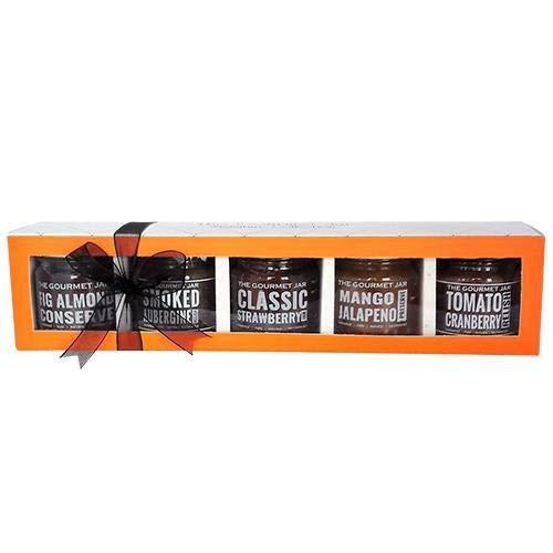 The Gourmet Jar Mini Happiness Box, 225g (45g X 5)