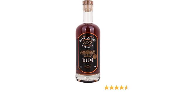 Ron St Aubin Black Rum 70 cl: Amazon.es: Alimentación y bebidas