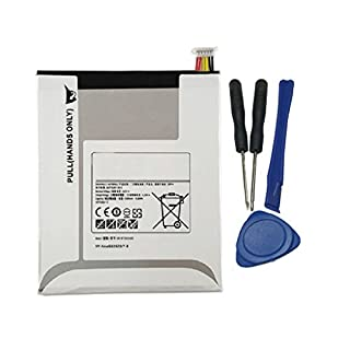 Tesurty Replacement Battery for Samsung Galaxy Tab A 8.0 Inch, SM-T350, SM-T355, SM-T355C, SM-T357W Wi-Fi 16G 32G with Open Tools