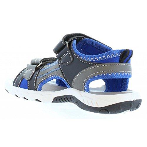 Sandales pour Garçon URBAN 322970-B2040 L C BLUE-BLACK
