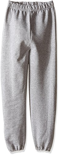 Jerzees Youth Fleece Sweatpant, Oxford, Large - Jerzees Fleece Oxfords