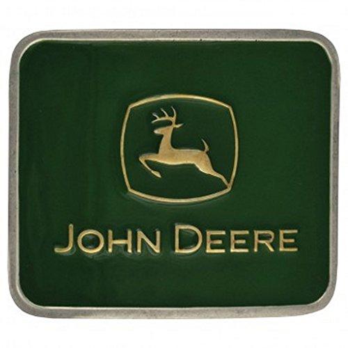 Montana Silversmiths Belt Buckle Attitude John Deere Green (Montana Silversmiths Belt)