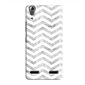 Cover It Up - Silver White Tri Stripes A6000 Hard case