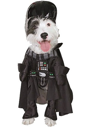 Star Wars Darth Vader Pet Costume, Size (Star Wars Big Dog Costumes)