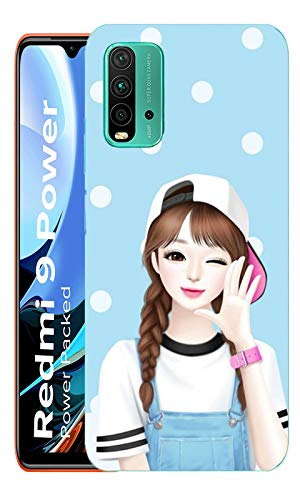 AAHIL Compatible for Redmi 9 Power Cute Girl Pattern Mobile Phone Back Cover Case Stylish Designer 3D Printed Hard… 2021 July Designer cover case. Beautiful and Tough. Use this case to reduce the chance of breakage. Fix perfectly around the inner shell to absorb impact form drops bumps and shocks. Complete access to all features of the device including microphone, speaker, camera and all buttons. Enhance the appearance of the overall phone.