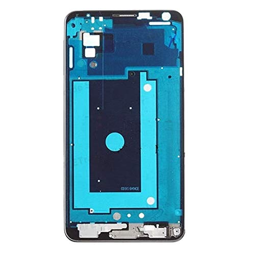 Linmatealliance Frame Bezel Plate Frame Bezel Plate LCD Front Housing for Galaxy Note III / N900 (3G Version)(Silver) (Color : Silver) ()