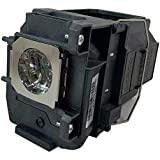 Epson ELP-LP85 Projector Housing with Genuine Original OEM Bulb