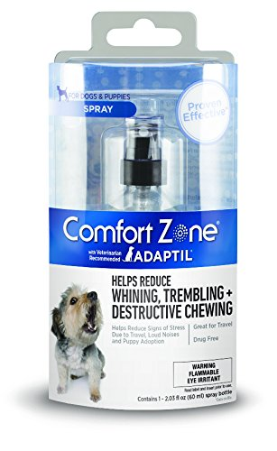 Comfort Zone Adaptil Spray for Dogs, 60 ml