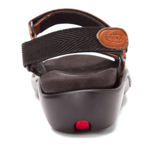 Sienna Two Italian Sandals Womens tone Leather Jewel 3204 Wolky Softy xwSq1Rx