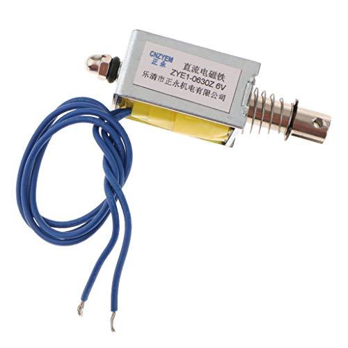 ZYE1-0630Z Mini Linear Motion Pull Push Type Solenoid Electromagnet DC6V