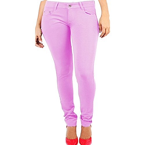 Vanilla Inc. - Leggings Donna Baby Pink