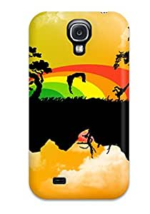 Awesome Stunning Abstracts Flip Case With Fashion Design For Galaxy S4