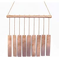 Copper Wind Chime with Rectangles, Handmade Patio Decor