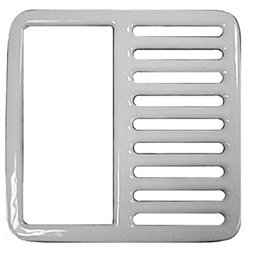 Half Top Grate for Porcelain Coated Floor Sinks by Jones Stephens
