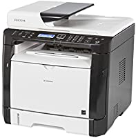 Ricoh 407983 SP 325SFNw Fax/Copier/Printer/Scanner, Black/white