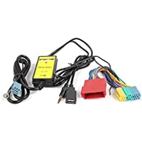 Audi Audio Interface,Moonet Car Mp3 Player Radio USB AUX Adapter for A2 A3 A4 S4 A6 S6 A8 S8 TT 1998-2006 Model