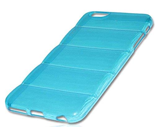 Silikon Case Handy Tasche Hülle für Apple iPhone 6 Plus / Schutzhülle Handytasche barell blau