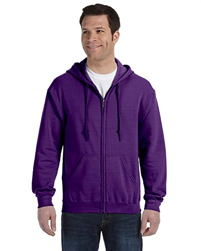Gildan Heavy Blend Unisex Adult Full Zip Hooded Sweatshirt T