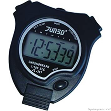 JUNSD JS - 307 Chronomètre de sport numérique chronographe: Amazon.es: Deportes y aire libre