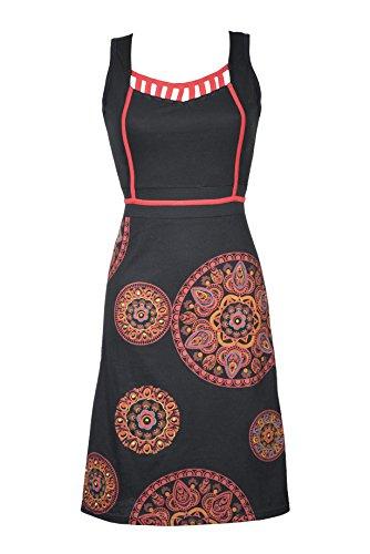 V wunderschönem Ausschnitt Damen Kleid und einzigartigem Casual ...