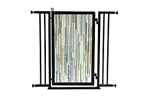 """Modern Lines Fusion Gate - 38"""" - 42"""""""