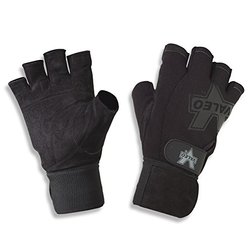 Gloves Purpose All (Valeo All Purpose Wrist Wrap Glove, Small)
