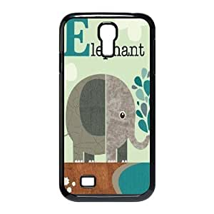 DDOUGS Indian Elephant Best Cell Phone Case for SamSung Galaxy S4 I9500, Custom Indian Elephant Case