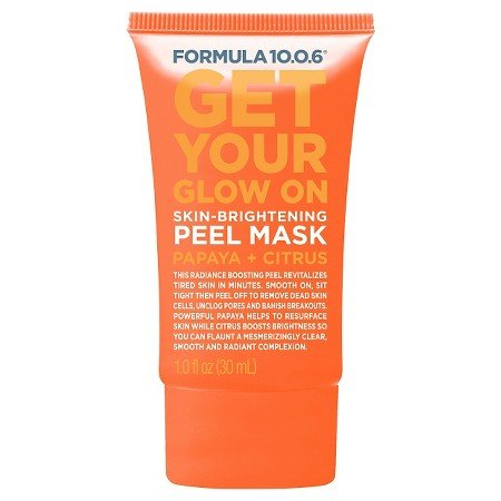 Formula 10.0.6 Skin Brightening Peel Mask Papaya Citrus 1 oz