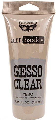 Prima Marketing Clear Finnabair Art Basics Gesso 8.5oz Tube - Clear Gesso