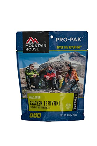 (Mountain House Chicken Teriyaki with Rice Pro-Pak)