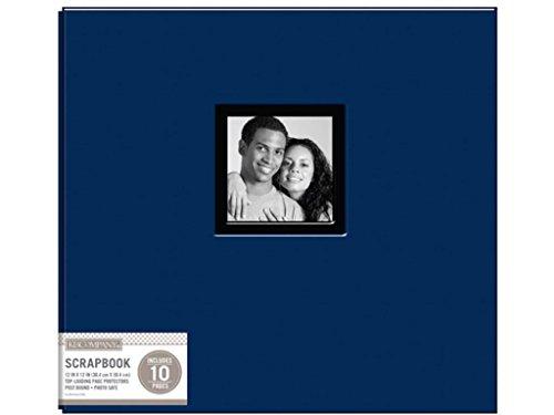 K & Company K&Co Navy Scrapbook 12x12 Window Fabric