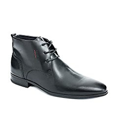 Amazon.com: VELEZ Men Genuine Colombian Leather Lace up Dress Boots Chelsea style Ankle High Chukka Boots | Botas de Cuero Colombianas para Hombre Black 38: ...