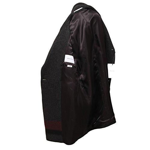 Cappotto Andy bordeaux bordeaux Aglini Men Coat Jacket Black Nero 0506v Uomo a4qwSf