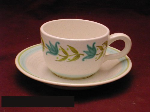 Tulip Franciscan Time (Franciscan Tulip Time B/W Cups & Saucers)