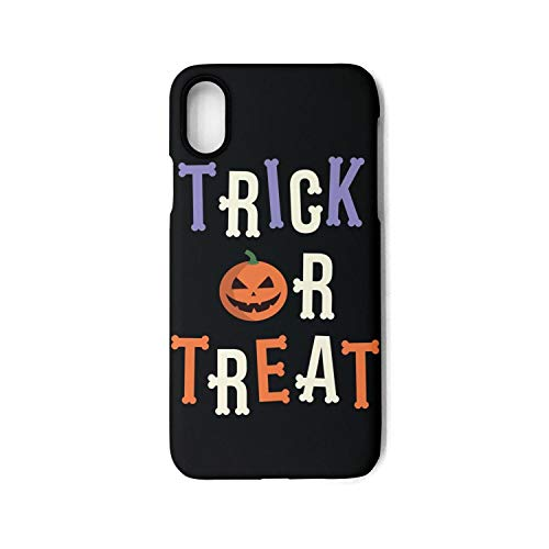 iPhone X Case Trick or Treat Pumpkin Decoration Shock Proof Protection Anti-Scratch Anti-Finger for iPhone 10 case -