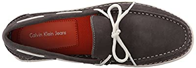 Ck Jeans Men's Calico Cow-Suede Slip-on Loafer
