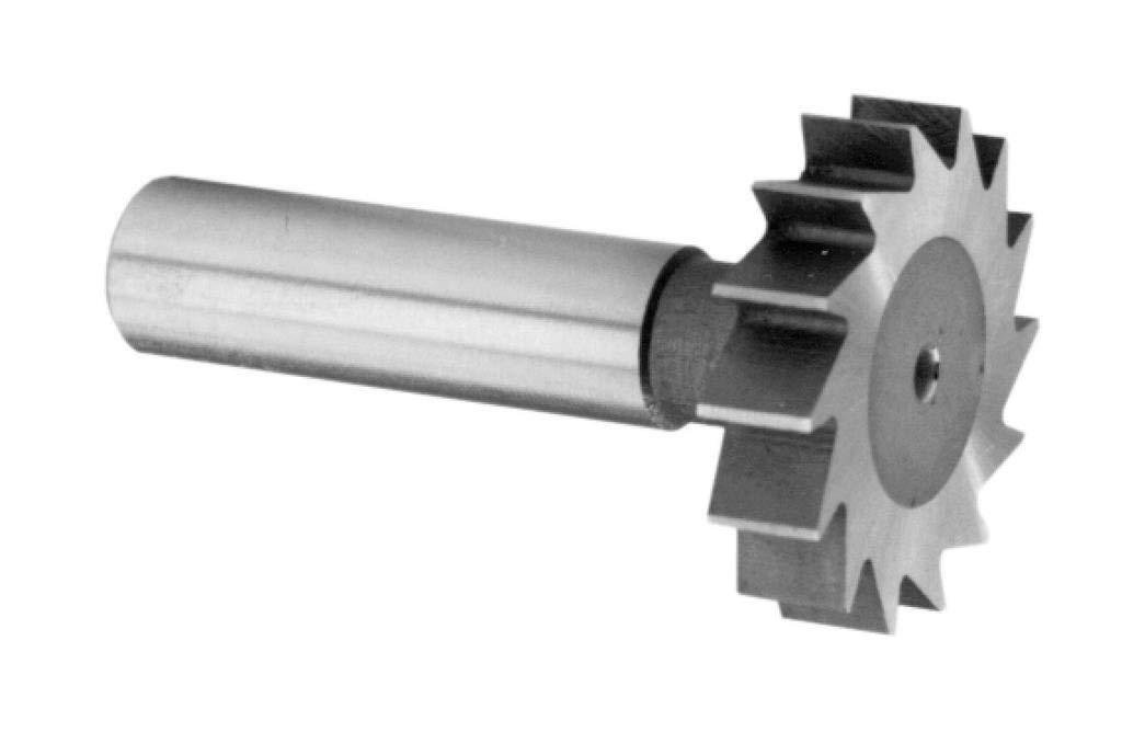 1'' Diameter 5/16 Wide Cobalt Keyseat Cutter Straight Tooth, American Standard # 1008
