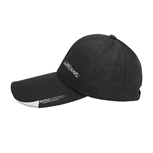 Tapas TAGVO del de los sol Sombrero ocasional de de del tenis ejecución del transpirable sombrilla algodón Sombreros con de estilo pico del deportes la béisbol puro c color Gorra la Capa con ocio del pIqarp