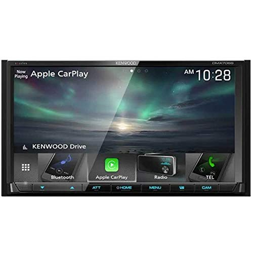 Kenwood DMX706S 7″ Digital Media Receiver with Apple CarPlay and Android Auto