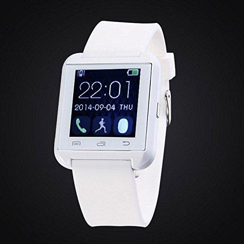 U8 Plus whatsapp smartwatch Bluetooth 4.0 pantalla (Blanco ...