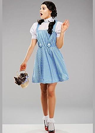 Magic Box Disfraz de Mago de Oz Dorothy para Mujer Standard (UK 10 ...