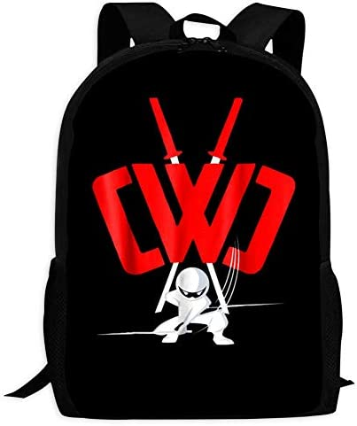 Childrens School Bags CWC Chad Wild Clay Ninja Printing Backpacks Kids Daypack for Boys Girls