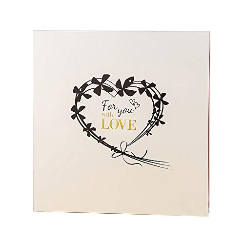 (L.HPT Photo Album 200 Photos Girl Handmade DIY Guest Book Scrap with Black Craft Paper Album Memory Book for Wedding Guest Birthday Anniversary (White),)