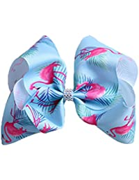 e2afb35001d Girls Valentine s Day Gift Large Unicorn Bows Clips love Hair Bow BY-50