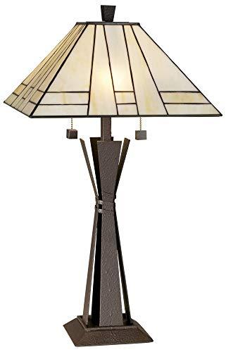 Kathy Ireland Citycraft Mission Table Lamp ()