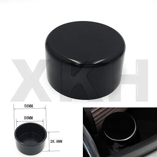 SMT- Compatible With 2010-2014 Chevrolet Camaro BILLET windshield WASHER FLUID RESERVOIR CAP Black [B07MVMFBTS] ()