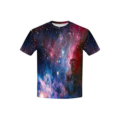 INTERESTPRINT Carina Nebula in Infrared Light T-Shirt in Youth XS