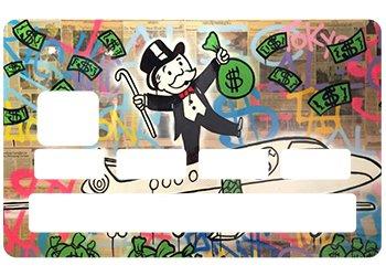 Stickers CB tarjeta azul Monopoly para tarjeta de Crédito: Amazon.es: Industria, empresas y ciencia