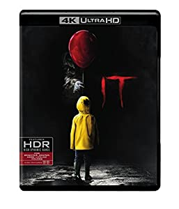 Cover Image for 'It [4K Ultra HD + Blu-ray + Digital]'